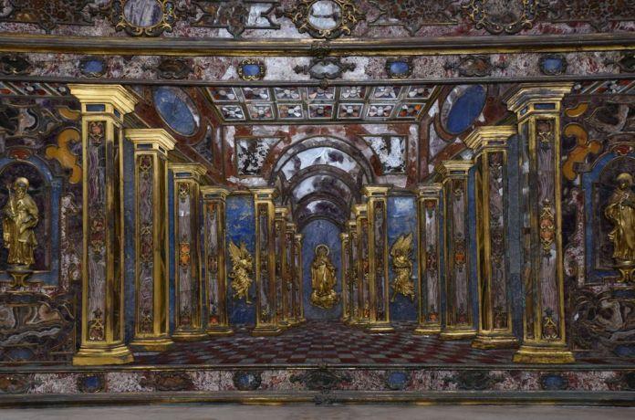 autel chapelle palais royal Naples