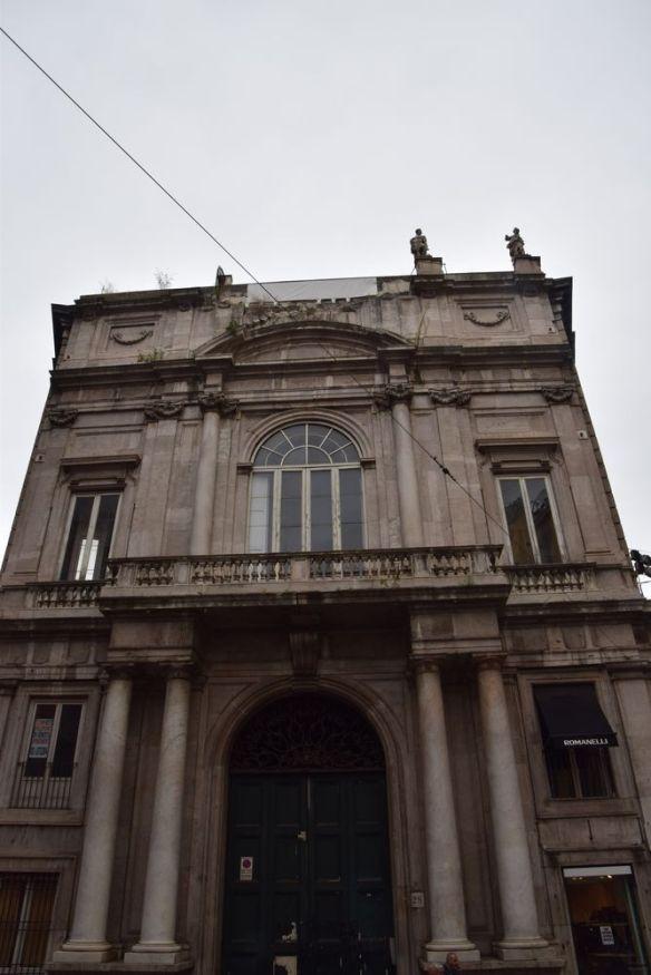 Palazzo Doria d'Angri façade Naples