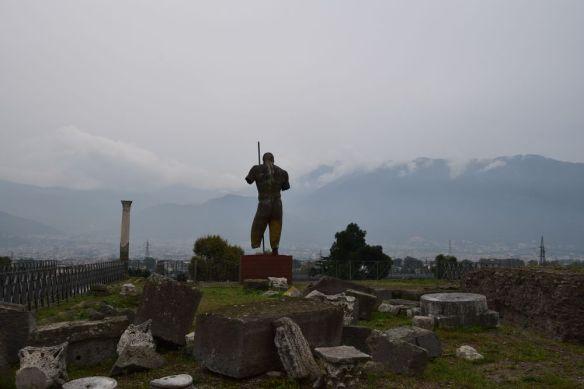 entrée en majesté à Pompéi