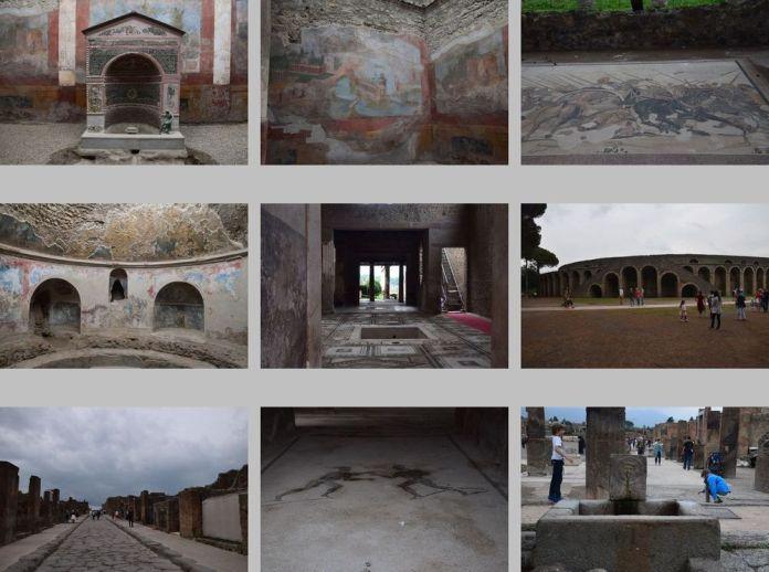 vues de Pompéi