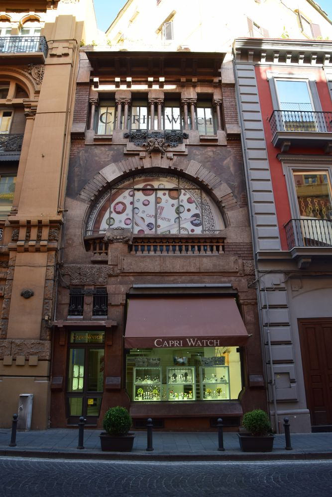 immeuble liberty via dei mille Naples
