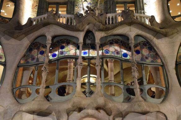 façade casa batllo Gaudi Barcelone Barcelona