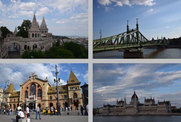Budapest vues emblématiques