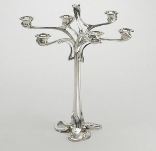 chandelier henry van de Velde 1898-1899