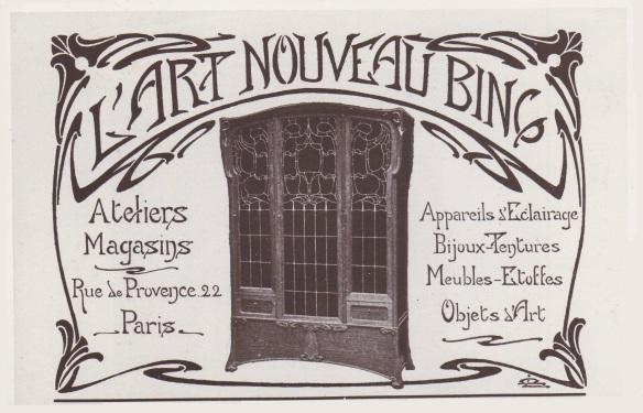 publicité art nouveau Bing