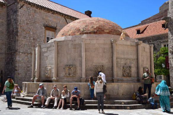 grande fontaine Dubrovnik