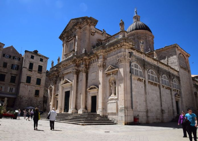 façade cathédrale Dubrovnik