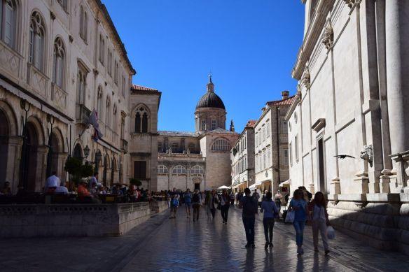 au bout de la voie cathédrale Dubrovnik