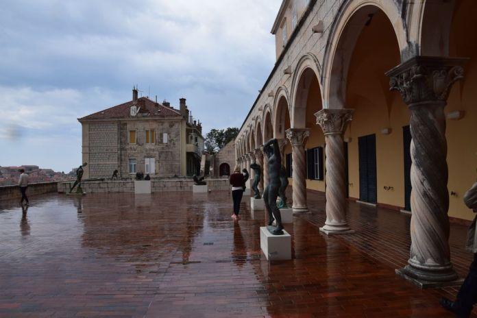 terrasse musée art moderne Dubrovnik
