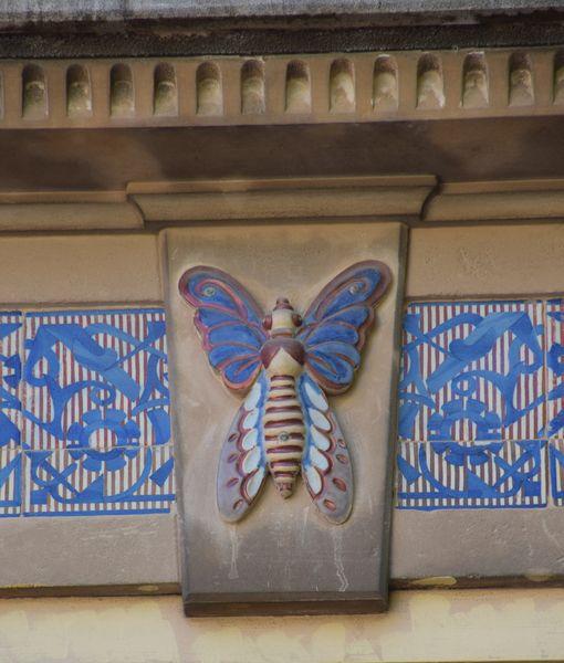 papillon en céramique ca'n Barcelo palma