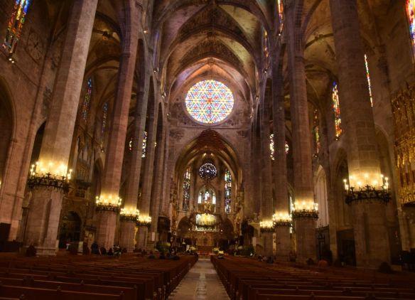 cathédrale de palma vitraux