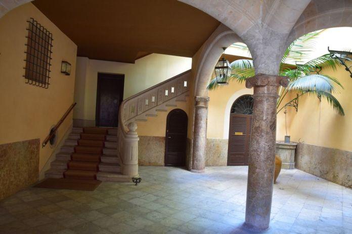 cour intérieure palais de palma