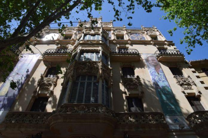 façade ancien gran hotel palma