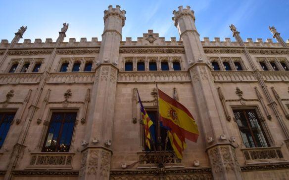 façade parlement palma