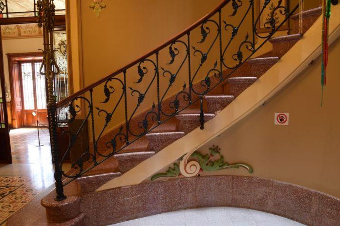 escalier ca'n prunera soller