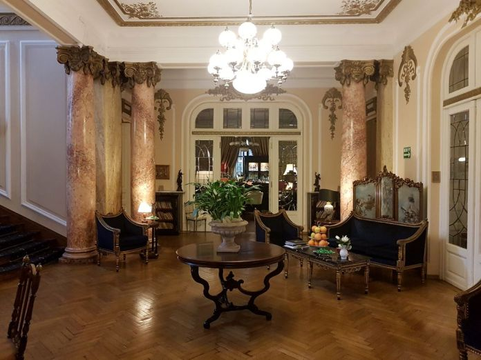 hall entrée grand boutique hôtel bucarest