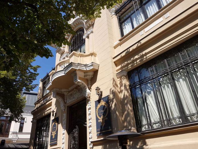 façade grand boutique hôtel bucarest