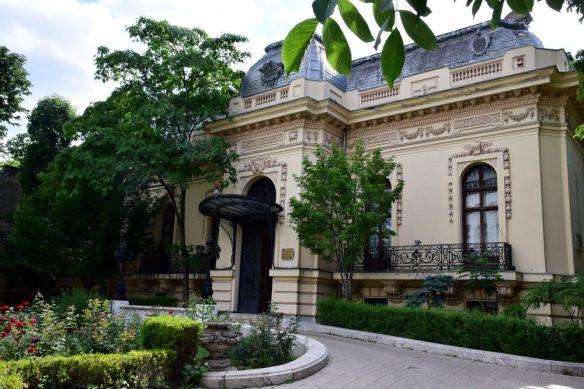 façade maison Assa Bucarest