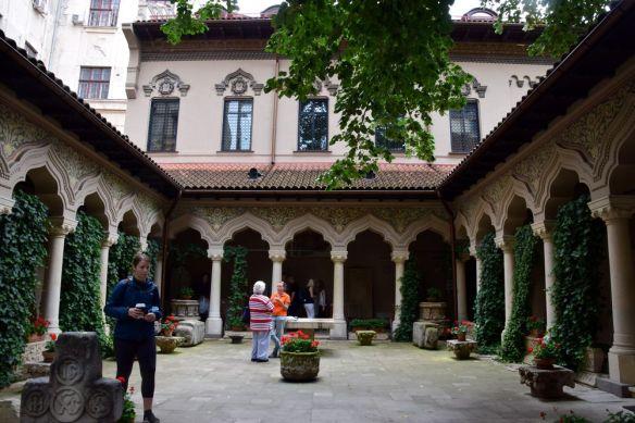 cloître monastère Stavropoleos Bucarest