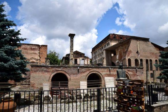 restes du palais des voïvodes Bucarest