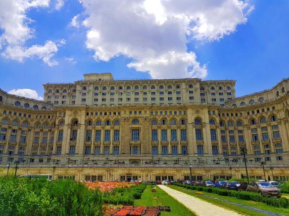 parlement Bucarest