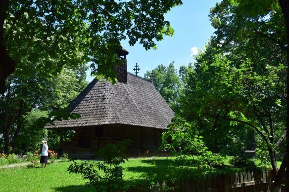 ancienne église bucarest satului