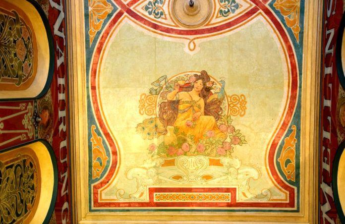 décor art nouveau de la galerie à hambourg