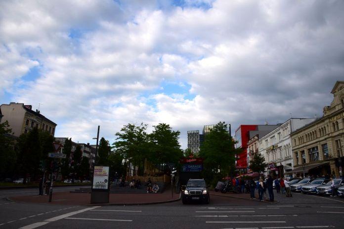 les tours dansantes d'Hambourg