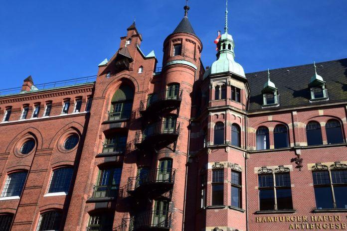 variantes architectures Speicherstadt hambourg