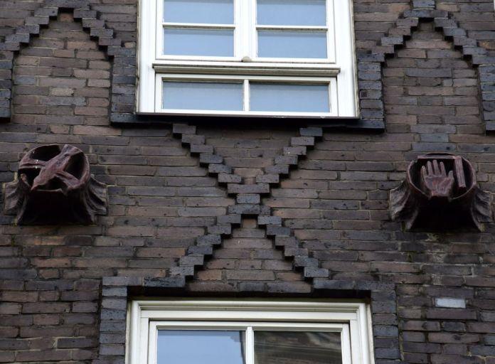 détail motifs décoratifs Sprinkenhof hambourg