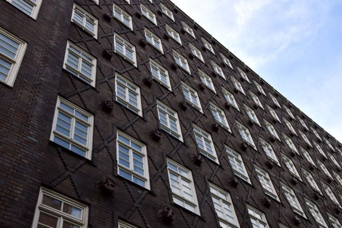 façade sprinkenhof hambourg