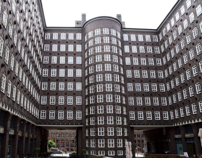 cour intérieureSprinkehof hambourg