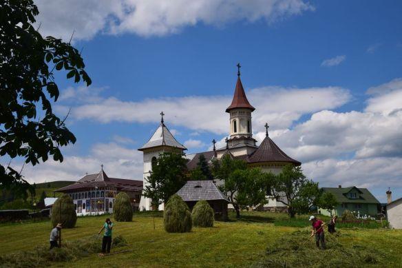 travail dans les champs en Bucovine