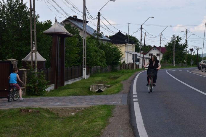 vélo en bucovine