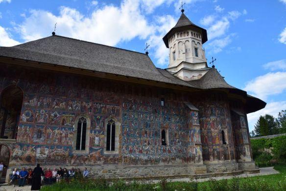 vaste église Moldovita