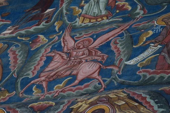 motif coloré façade Moldovita
