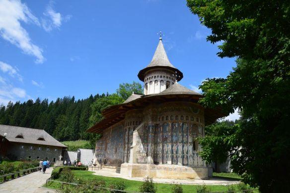 voronet une des églises les plus connues de Bucovine