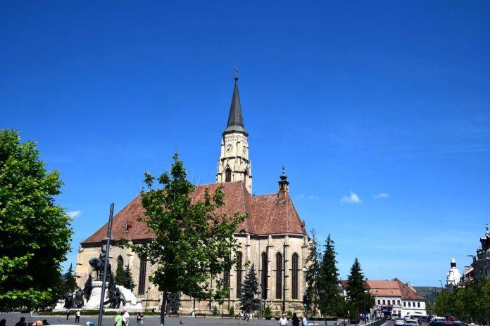 église saint michel cluj-napoca