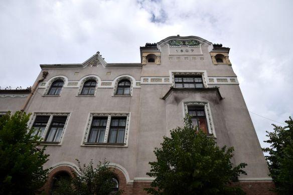 partie façade mairie Targu Mures