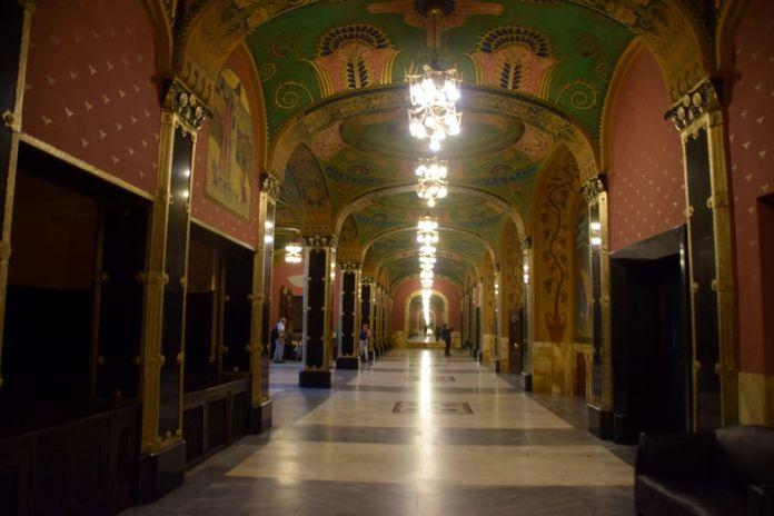 hall d'entrée Palais de la culture