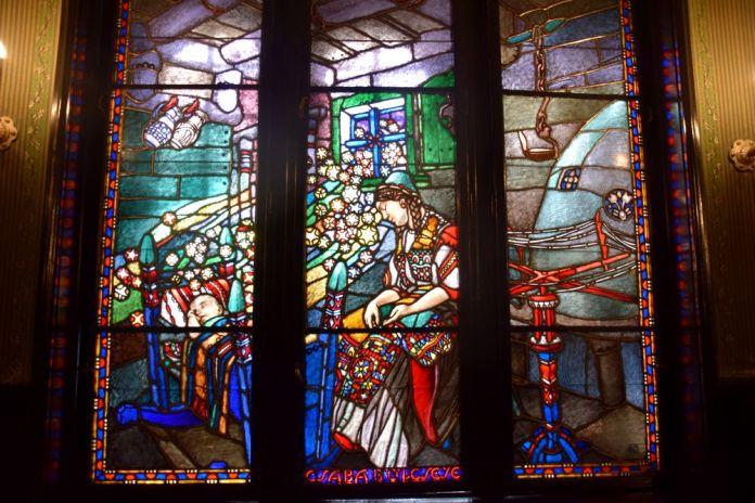 vitraux Palais de la Culture