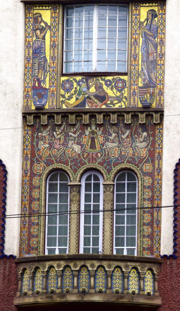 mosaïques palais de la culture targu mures