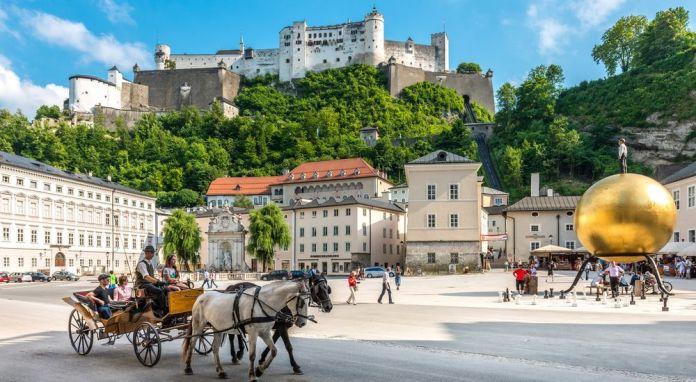 Salzbourg art de vivre Autriche