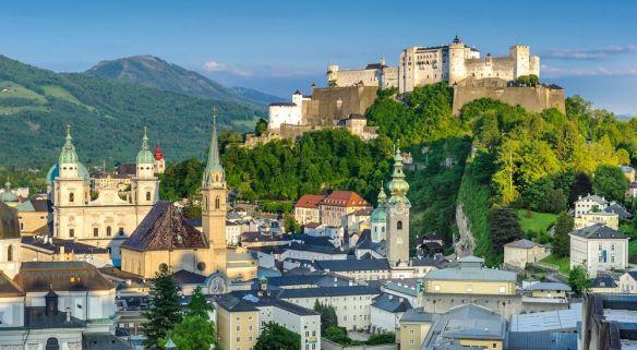 Salzbourg cadre naturel Autriche