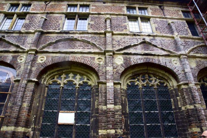 fenêtres vitraux abbaye du parc Louvain