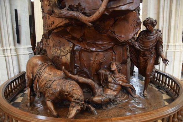 chaire église Sint-Pieterskerk saint-pierre Leuven Louvain