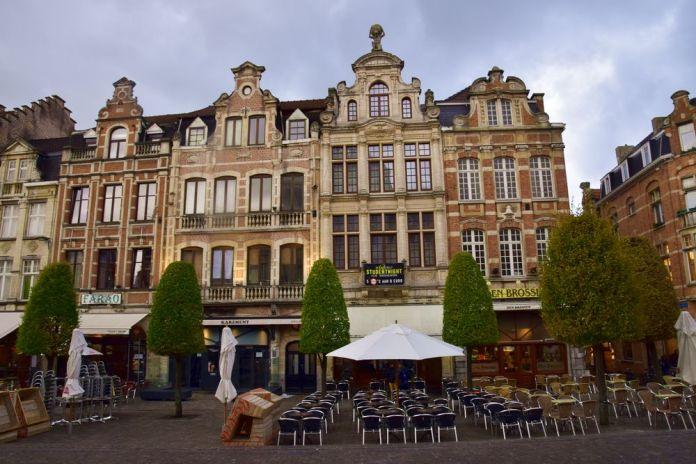cafés et restaurants du Oude markt leuven louvain