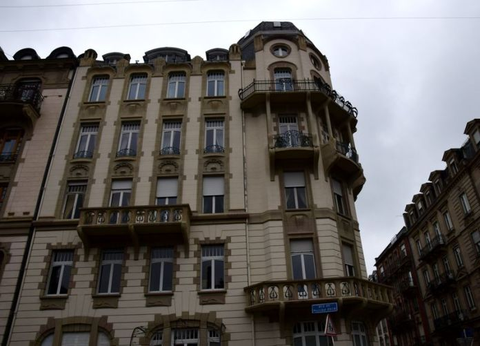 immmeuble art nouveau strasbourg henrich backes franz Lütke