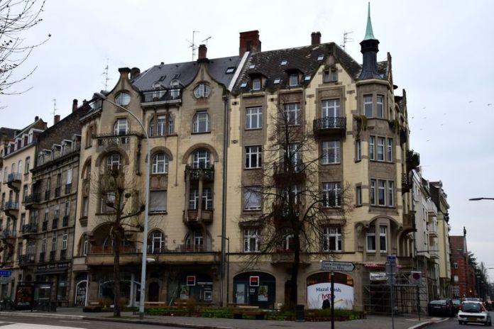 immeubles art nouveau strasbourg heinrich backes et franz lütke rue sellenick