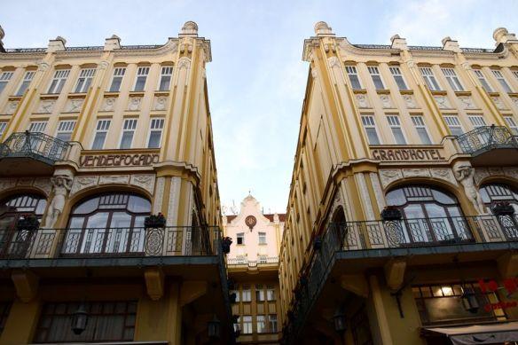 grand hôtel palatinus pécs